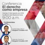 Conferencia el derecho como empresa